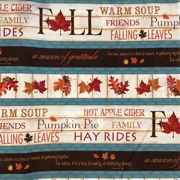 COLOURS OF FALL (84411-284) - fabric price per 1/4 meter