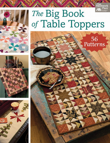 THE BIG BOOK OF TABLE TOPPERS - book
