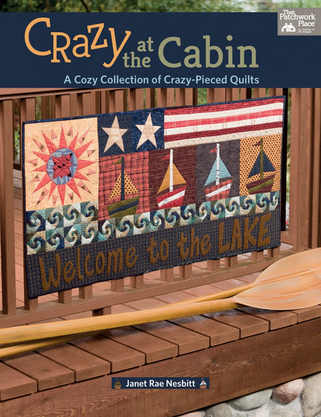 CRAZY AT THE CABIN - book