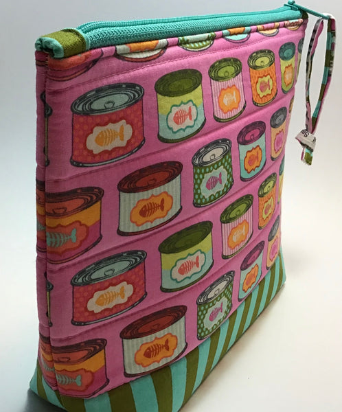 CAT AQUA - zipper bag kit
