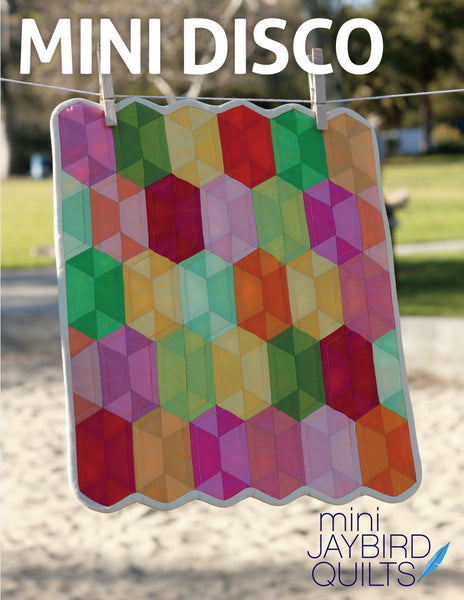 MINI DISCO - mini quilt pattern