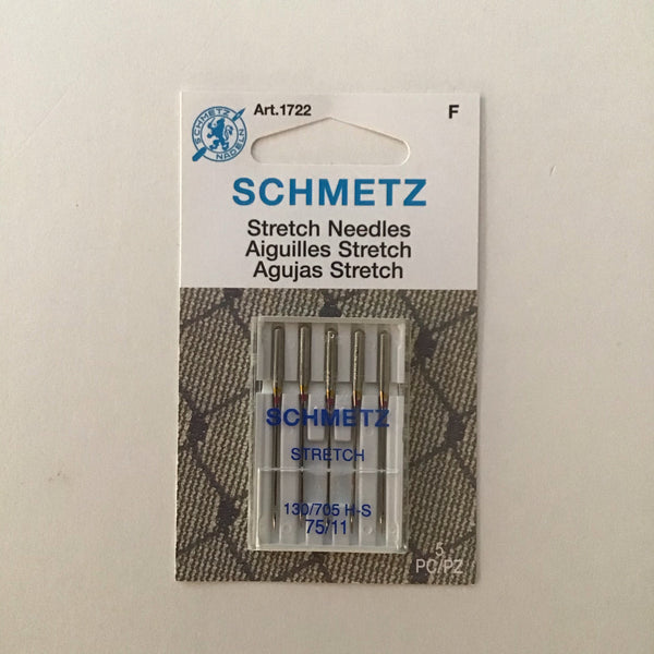SCHMETZ STRETCH MACHINE NEEDLES - 75/11