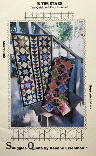 IN THE STARS - table runner pattern