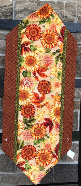 TABLE RUNNER - easy runner sunflower