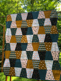 TREE HOUSE THIMBLES - kid size quilt kit