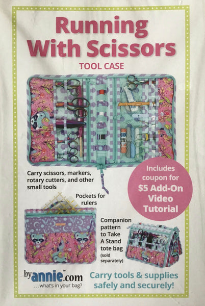 RUNNING WITH SCISSORS - tool case pattern