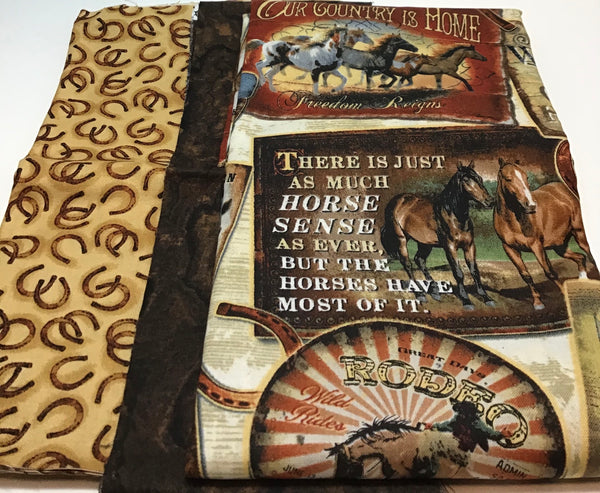 HORSE - pillow case kit