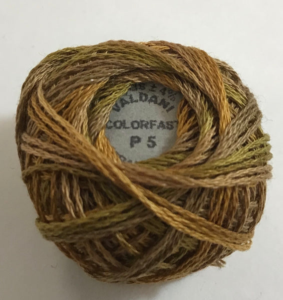VALDANI (P-5) 29yds - 3 Strand Cotton Thread