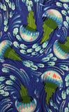 ZUMA (SEA BLOOM-120-AQUAMARINE) - fabric price per 1/4 meter