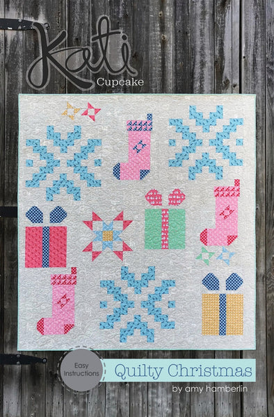 QUILTY CHRISTMAS - quilt pattern