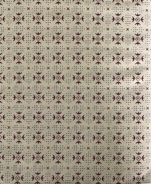 ESTHER'S HEIRLOOM SHIRTINGS (1603-44) - fabric price per 1/4 meter