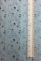 HIDDEN FOXES (DH8574-BREE-D) - fabric price per 1/4 meter