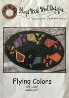 FLYING COLORS - wool appliqué pattern