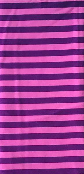 ALL STARS (TENT STRIPE-069-FOXGLOVE) - fabric price per 1/4 meter