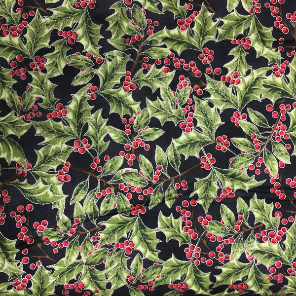 HOLIDAY DECADENCE (27704-55) - fabric price per 1/4 meter