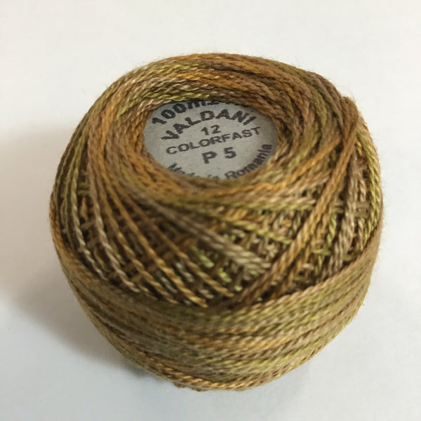 VALDANI (P-5) 100M - pearl cotton thread Size 12