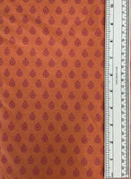 TRUE COLORS (LADY BUG-027-NECTARINE) - fabric price per 1/4 meter