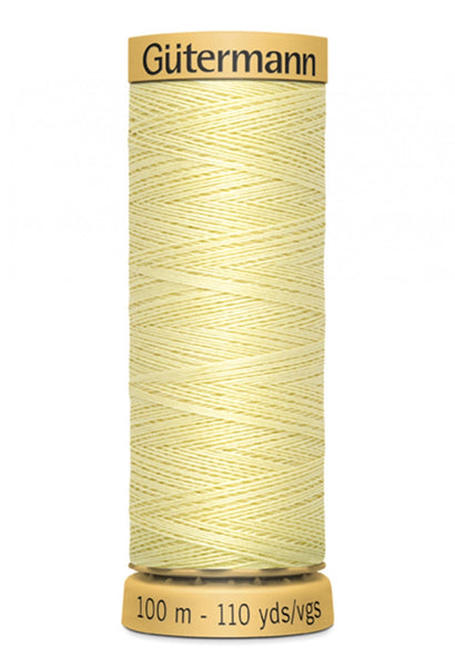 GUTERMANN 100m - 1370  -100% Mercerized Cotton (pale yellow)