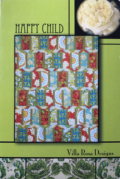 HAPPY CHILD - postcard quilt pattern