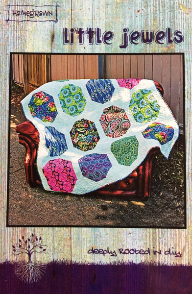 LITTLE JEWELS - postcard quilt pattern