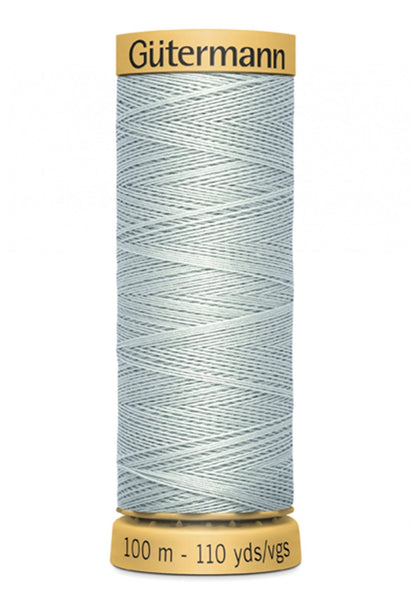 GUTERMANN 100m - 9120  -100% Mercerized Cotton (silver)
