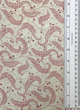CHOCOLATE & CHERRY (CLOT-Y18484) - fabric price per 1/4 meter