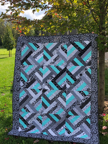 LAP QUILT - strip search