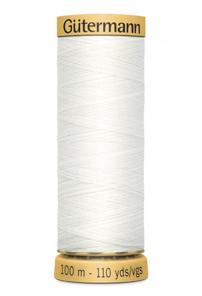 GUTERMANN 100m - 1006  -100% Mercerized Cotton (white)
