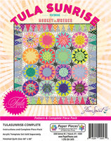 TULA SUNRISE- paper piece pack & pattern