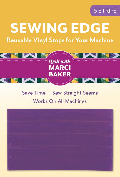 SEWING EDGE - 5 strip reusable vinyl stops