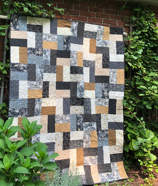 STILETTO BRICKS - lap quilt kit