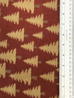CABIN FEVER FLANNEL (F7150-RED) - fabric price per 1/4 meter