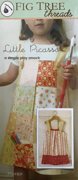 LITTLE PICASSO - play smock pattern