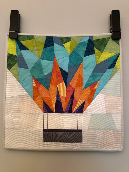 UP AND AWAY- mini quilt kit