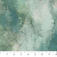 WHISPERING PINES (DP23753-62) - fabric price per 1/4 meter