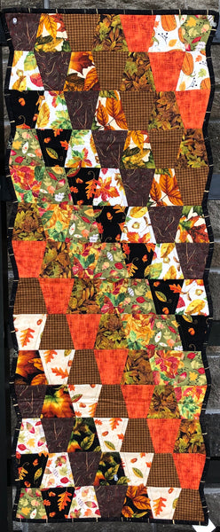 TABLE RUNNER - fall thimbles