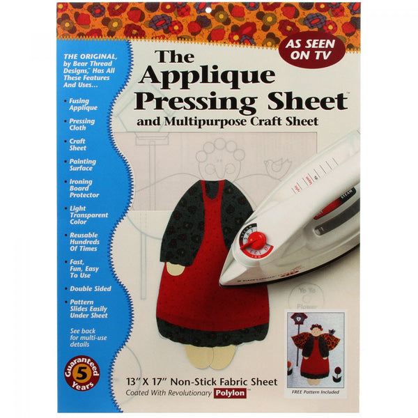 APPLIQUÉ PRESSING SHEET
