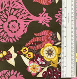 "INNOCENT CRUSH (LOVESME LOVESMENOT-HDAH11) CANVAS HEAVY WEIGHT BACKING 60"" WIDE - fabric price per 1/4 meter"
