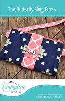 THE BUTTERFLY SLING PURSE - purse pattern