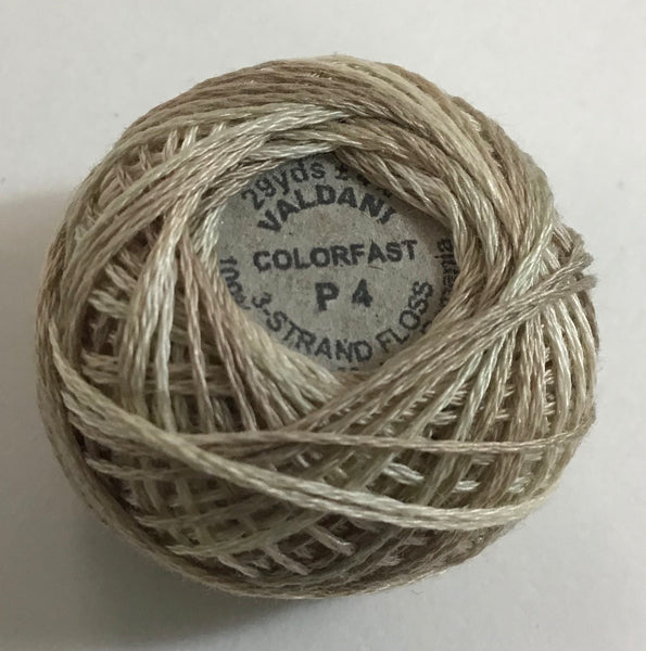 VALDANI (P-4) 29yds - 3 Strand Cotton Thread