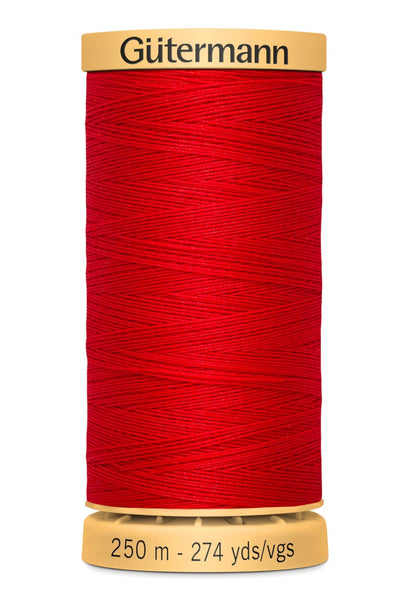 GUTERMANN 250m - 4880  -100% Mercerized Cotton (red)