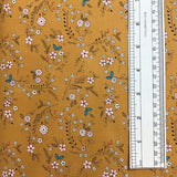 FOREST FLOWERS (DH8576-AMBE-D) - fabric price per 1/4 meter