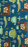 DINO-RIFFIC (3403-76) - fabric price per 1/4 meter