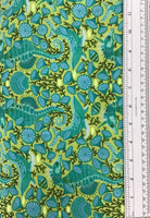 ZUMA (STALLION-119-SEA GLASS) - fabric price per 1/4 meter