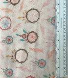 DREAM CATCHERS FLANNEL (F3226-22) - fabric price per 1/4 meter