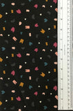 TREEHOUSE (BLACK-90073-99) - fabric price per 1/4 meter
