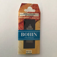 BOHIN BETWEENS NEEDLES (20 needles assorted sizes 8/12) - needles