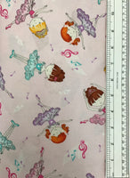 BELLA-RINA (3435-22) - fabric price per 1/4 meter