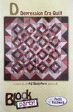 DEPRESSION ERA QUILT - quilt pattern