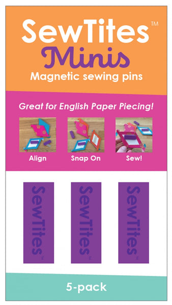 SEWTITES MINIS - purple magnetic sewing pins
